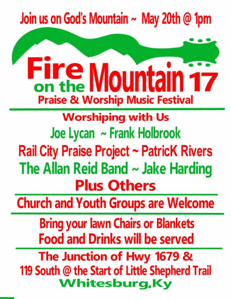 Fire On The Mountain Flyer
