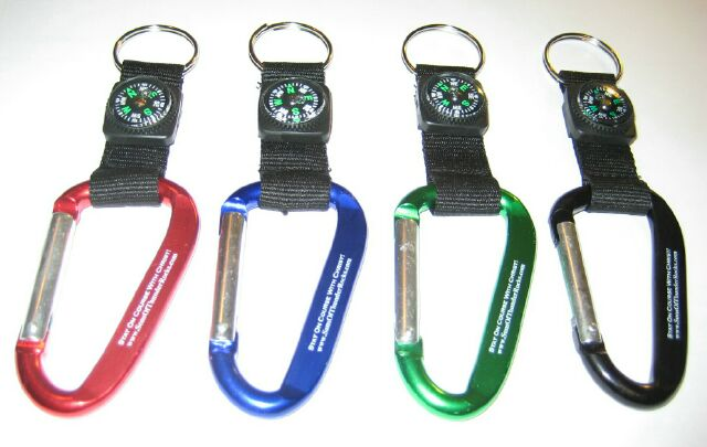 Stay On Course With Christ! Keychains