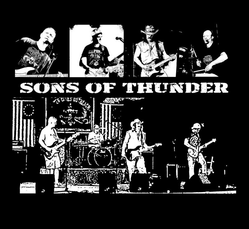 Sons of Thunder - new tshirt 08/2012