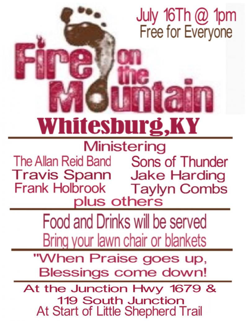 Fire on the Mountain Flyer 7-16-16